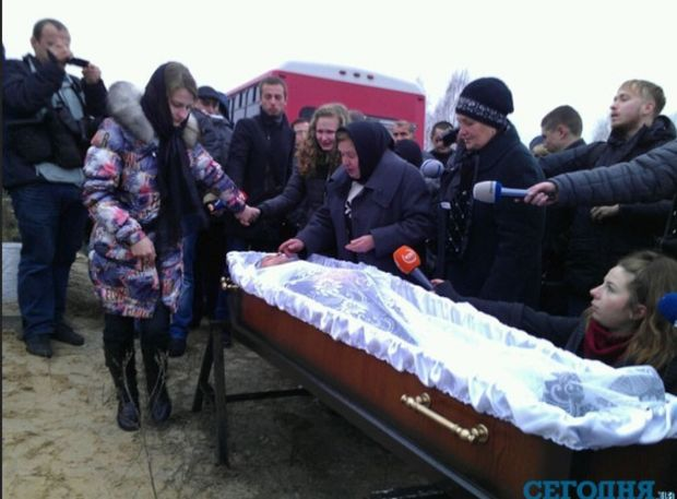 покойники фото в гробах