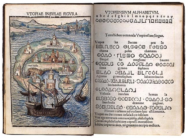 утопия мор томас читать строительством