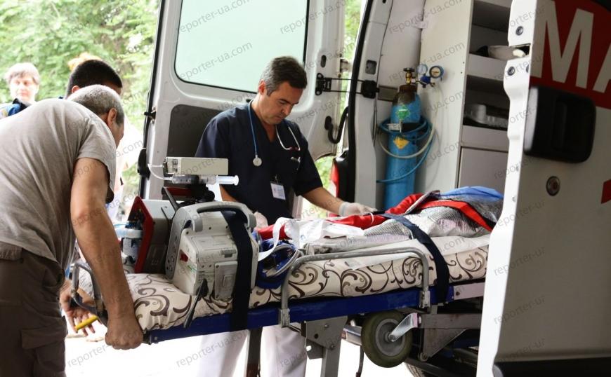 Небольшую Дашу, пострадавшую отожогов, направили изЗапорожья налечение вБостон