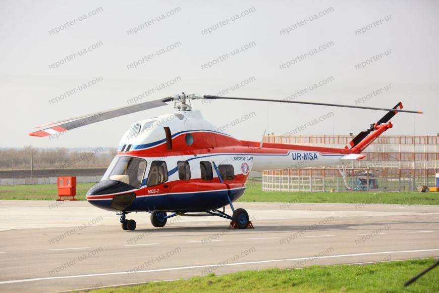 ВЗапорожье провели испытание первого украинского вертолета— Полет стандартный
