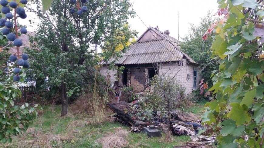 ВЗапорожской области два человека погибли впламени