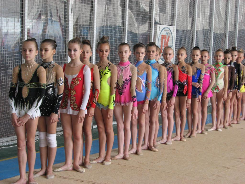 фото гимнастки юные