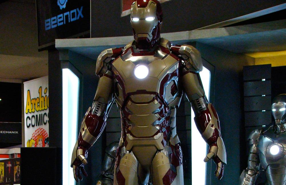 Железный человек как его сделать из железа 236